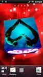 3D Love Cube HD Live Wallpaper Paper screenshot 2/4