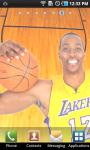 Dwight Howard Lakers Live Wallpaper screenshot 1/3