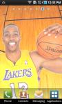 Dwight Howard Lakers Live Wallpaper screenshot 2/3