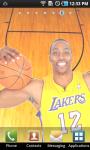 Dwight Howard Lakers Live Wallpaper screenshot 3/3