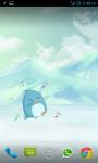Dancing Penguin Live Wallpaper Free screenshot 1/6