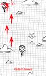 Arrow and Stickman: Fly Like Plane screenshot 2/3