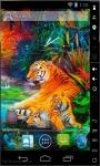 Tiger Family Live Wallpaper screenshot 2/2