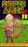 Sniper Alien 3D - Free screenshot 1/4