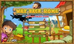 Free Hidden Object Games - Way Back Home screenshot 1/4