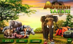 Free Hidden Object Game - African Safari screenshot 1/4