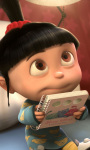 Despicable Me 2 Agnes Live Wallpaper screenshot 1/4