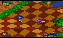 Sonic 3D Blast screenshot 2/4
