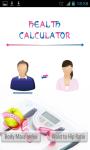 Health Calculator - BMI and WTH screenshot 1/3