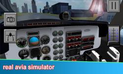 Aircraft Flight Pilot 3D Free screenshot 1/3