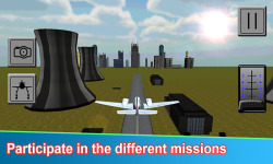Aircraft Flight Pilot 3D Free screenshot 2/3