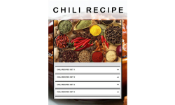 Chili recipe screenshot 1/3