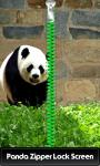 Panda Zipper Lock Screen Free screenshot 1/6