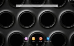 XPERIA Black Steel Theme primary screenshot 2/6