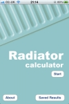 Radiator / BTU Calculator screenshot 1/1