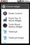 Turbo Booster Battery Widget screenshot 2/2