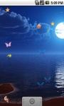 Full Moon Butterfly Live Wallpaper  screenshot 1/5