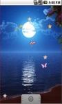 Full Moon Butterfly Live Wallpaper  screenshot 3/5