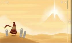 Journey Through Sand Storm LWP screenshot 1/4