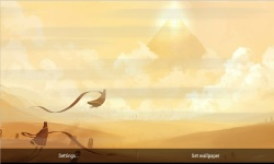Journey Through Sand Storm LWP screenshot 4/4