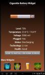 Cigarette Real Widget Battery screenshot 4/4
