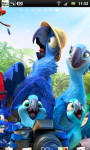 Rio 2 Live Wallpaper 4 screenshot 2/3