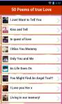 50 Poems of true love screenshot 2/3