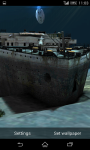 Titanic Under Water 3D Live Wallpaper  screenshot 4/4