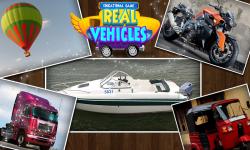 Educational Game Real Vehicles screenshot 1/6