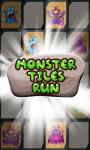 Monster Tiles Run screenshot 1/6