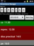 Attendance Manager screenshot 1/6