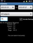 Attendance Manager screenshot 3/6