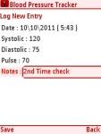 Blood Pressure Care Free screenshot 3/5