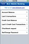BLC Bank Mobile Banking screenshot 1/1