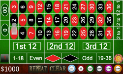 Harwin Apps Roulette FREE screenshot 1/3