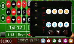 Harwin Apps Roulette FREE screenshot 2/3