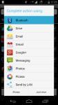 Backup and share apk screenshot 2/3
