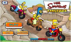 Simpsons Family Race screenshot 1/3