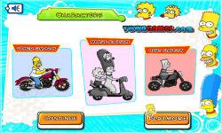 Simpsons Family Race screenshot 2/3