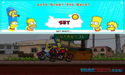 Simpsons Family Race screenshot 3/3