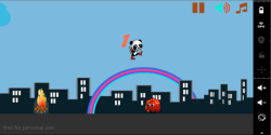 Fire Panda Run screenshot 1/3