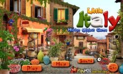 Free Hidden Object Games - Little Italy screenshot 1/4