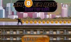 Skater Boy Rooftop Ride screenshot 2/3