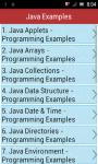 Java Examples screenshot 1/3