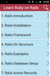 Learn Ruby on Rails screenshot 1/2