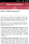 Learn Ruby on Rails screenshot 2/2