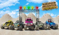 Survivor Monster Truck Match game screenshot 1/5