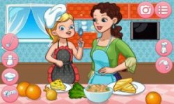 Dress Up Mother — Cook and Fun Together screenshot 1/3