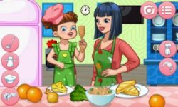 Dress Up Mother — Cook and Fun Together screenshot 2/3