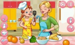 Dress Up Mother — Cook and Fun Together screenshot 3/3